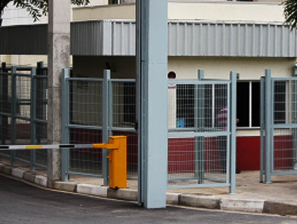 galpão de armazenagem localizado em condomínio fechado
